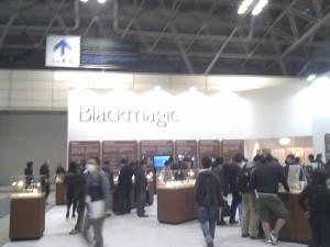 注目のBlackMagicブース