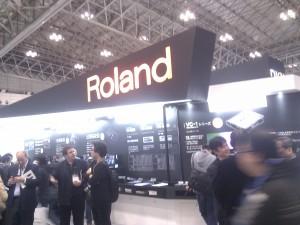 音響系ブースの2強の1つ、Roland